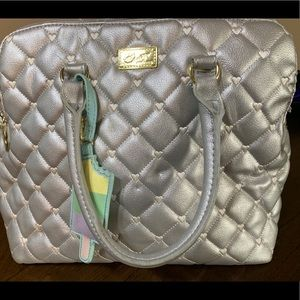 Silver Betsey Johnson